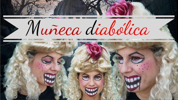 Maquillaje Muñeca diabolica ESPECIAL HALLOWEEN - NaturaLau