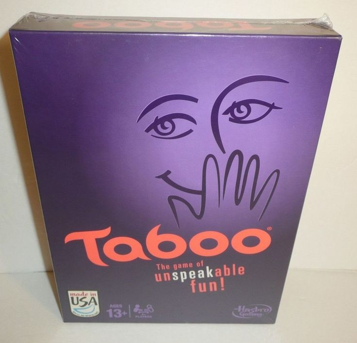 Taboo Board Game - The Game of Unspeakable Fun by Hasbro NEW SEALED 2013 #Hasbro