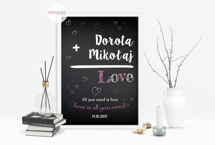 Plakat na ślub #walentynki #love #wedding #rocznica #valentinesday #anniversary #memorabli #handmade #plakaty #poster #nasciane #dekoracjapokoju #maż #żona #certyfikat #ślub #wedding #paramłoda