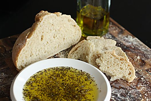 Italian Herb Dipping Oil  1/4 teaspoon dried basil, crushed,  1/4 teaspoon dried oregano, crushed  1/8 teaspoon kosher salt  1/8 teaspoon freshly ground black pepper  1/4 cup extra virgin olive oil