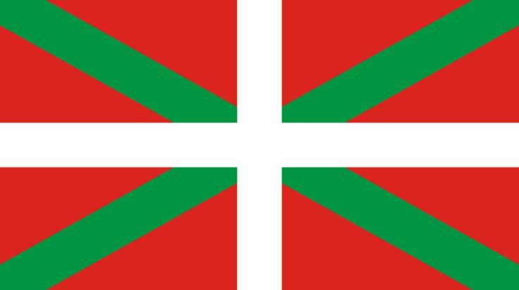 Bandera de la Comunidad Autónoma del País Vasco.