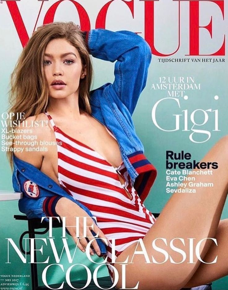 Strike A Pose And ✨ GIGI HADID✨ #VOGUE