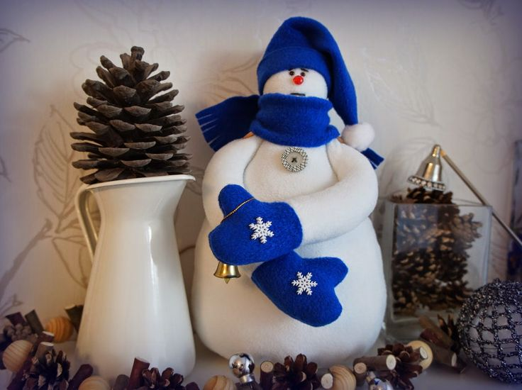 Снеговик. Флис
