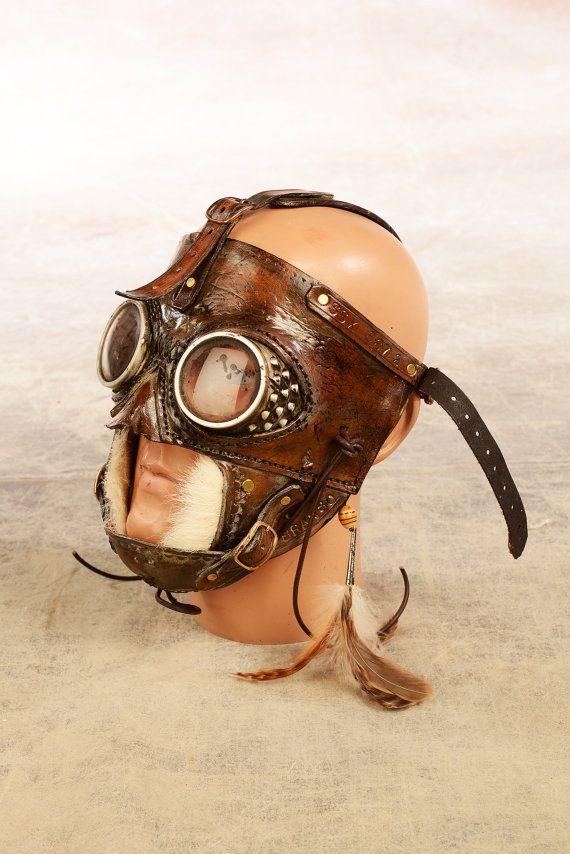 post apocalyptisch masker van ELBRANSO op Etsy