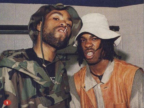 Method man and Busta Rhymes