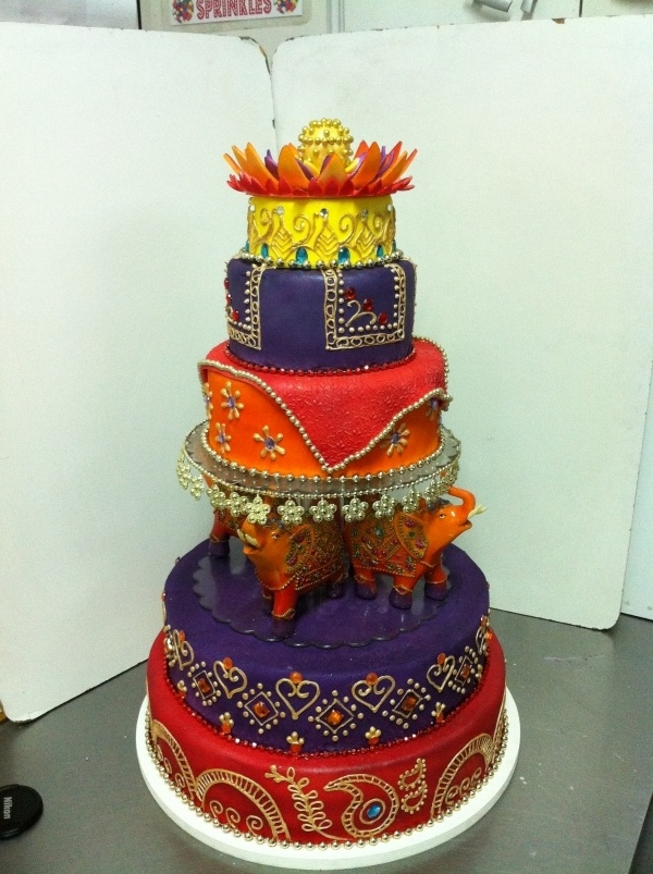 Indian Wedding Cake ~ follow us http://www.pinterest.com/proimagegroup ~ like us on https://www.facebook.com/Professionalimagephotography