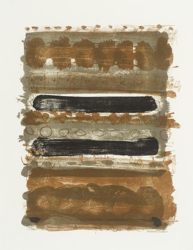 Patrick Heron 'Grey and Brown Stripes : 1958', 1958 © Estate of Patrick Heron. All Rights Reserved, DACS 2016