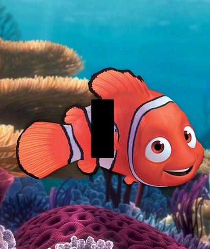 Finding Nemo Fish Wall Art Light Switch By