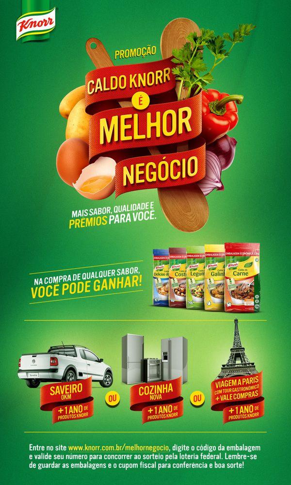 Caldo Knorr é Melhor Negócio on Behance   by Eduardo Kisse