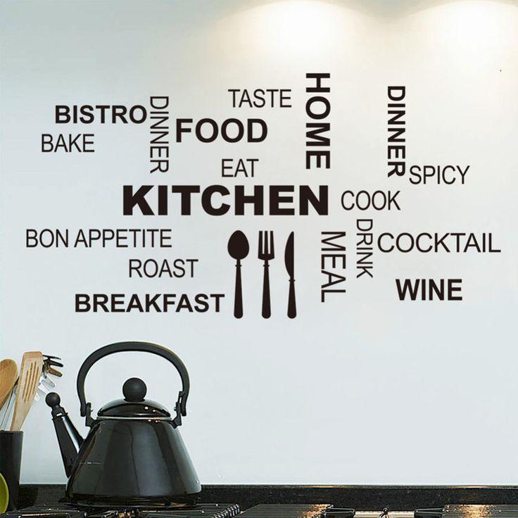 Kitchen Wall Stickers Inspirations Vinyl