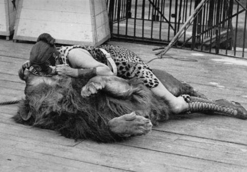 Lion tamer, 1900s