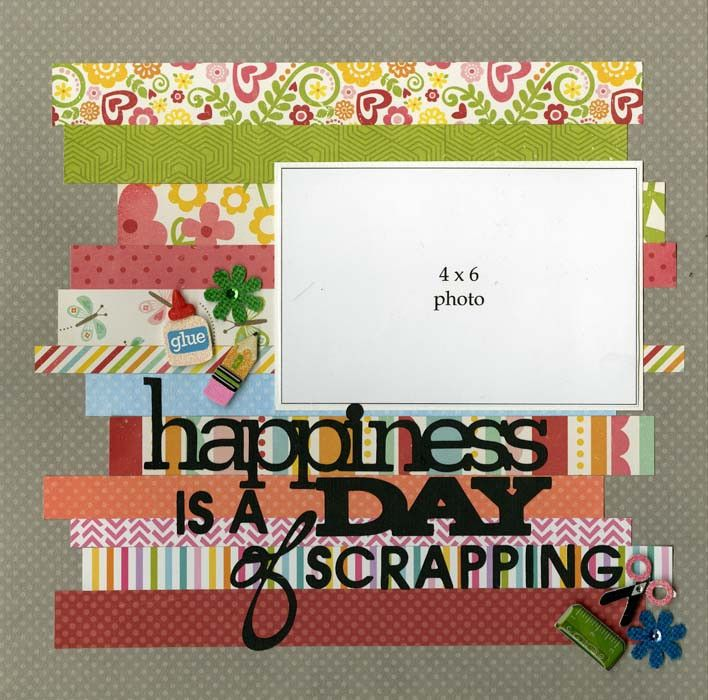 Does it seems like you are always the one behind the camera? Be sure to add YOU into your scrapbooks and what better way than to showcase your hobby. Embellishments include: 3D stickers, sticker borde