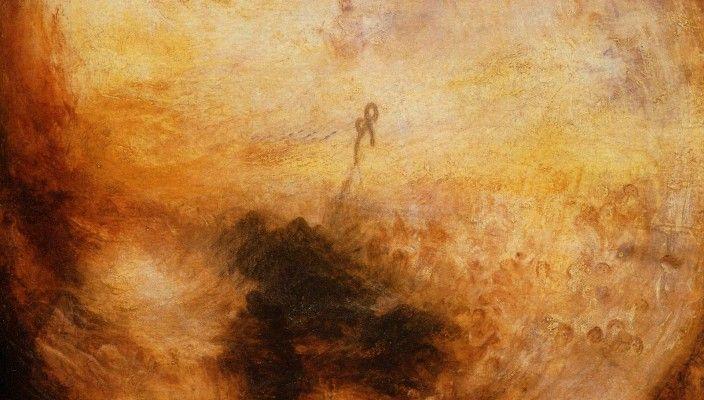 Джозеф Мэллард Уильям Тернер. Свет и цвет. Утро после всемирного потопа. 1843