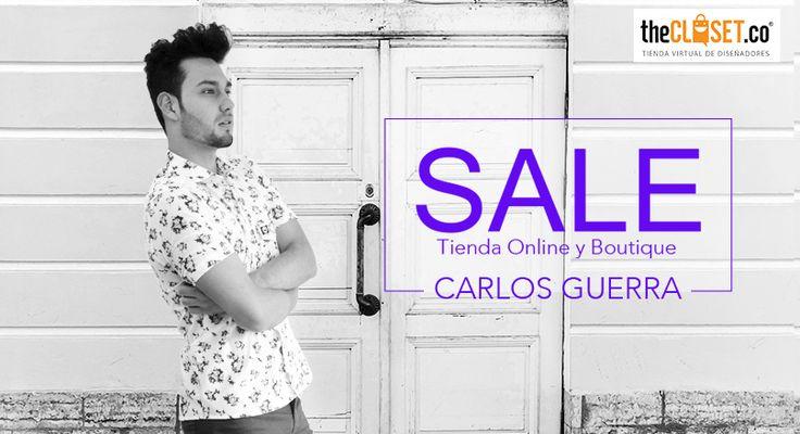 Súper #SALE de la marca Carlos Guerra Neiva 1990 - loft Bogotá en nuestra tienda online y boutique TheCloset.co Store Visítanos en la Cra. 7 # 54 a - 18 L-3.