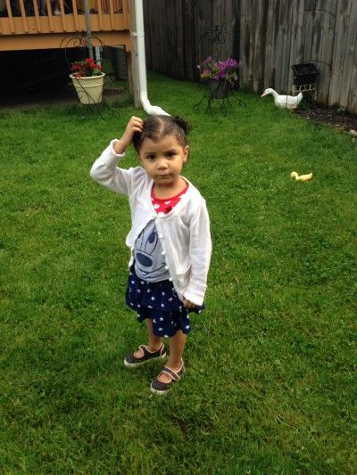 Preschooler Photo Contest Lily September 2015 Cute Kid Contest