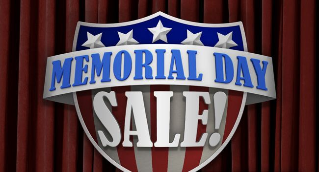 memorial day sale for tv
