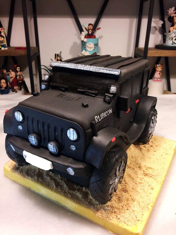 3D Jeep Rubicon Cake ,Wrangler Cake ,Jeep Cake