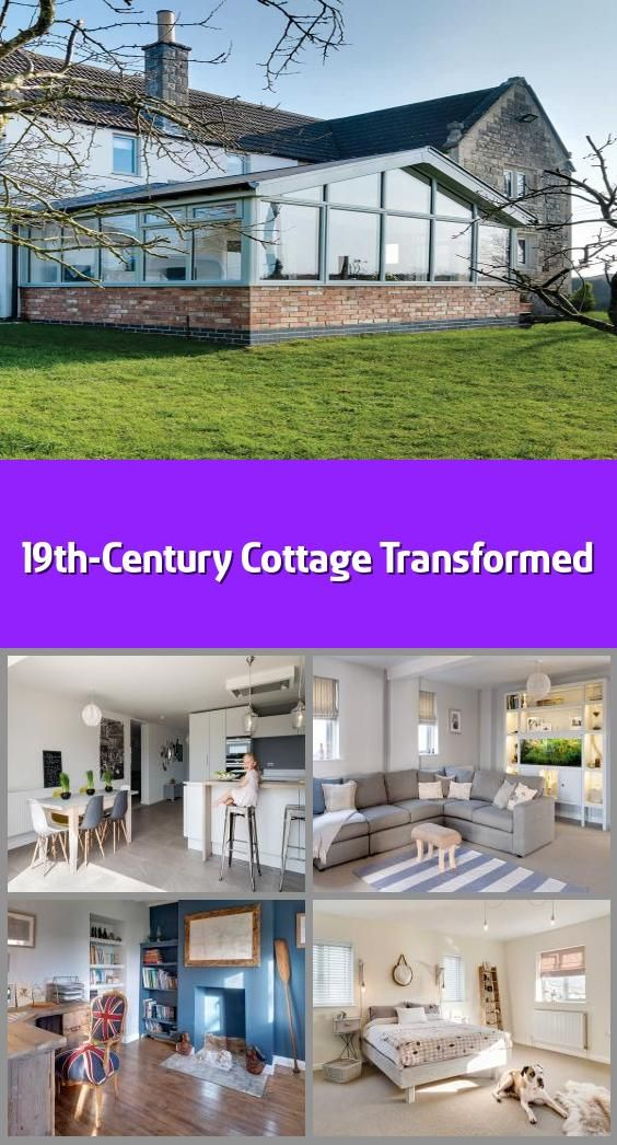 """19th-Century Cottage Transformed - It's remarkable that Lisa and Ryan Tucker succeeded in buying their cottage at all, given the many twists and turns of fate. """"We first saw it in 2014 after we had been looking for a long time,"""" begins Lisa. """"It wasn't beautiful and we didn't exactly fall in love with it because it was damp, very cold and had been empty for some time. But we could see the potential.""""The 1820s cottage was originally a 'two up, two down', but had been extended in the 1970s; the..."""