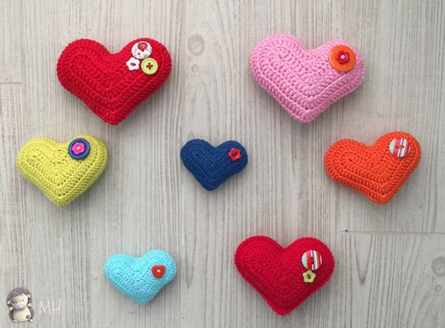 Amigurumi Big Heart : 664 best images about Amigurumis en espanol on Pinterest
