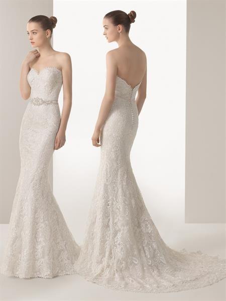 Свадебное платье максимально открытое