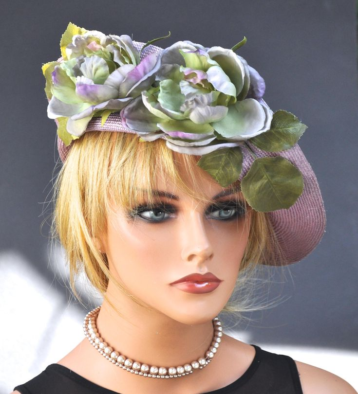 Wedding Hat Derby Hat Fascinator Hat Women's Formal Hat Headpiece Melbourne Cup Hat, Horse race Hat, Saucer hat, Carnival Race Hat Fancy Hat