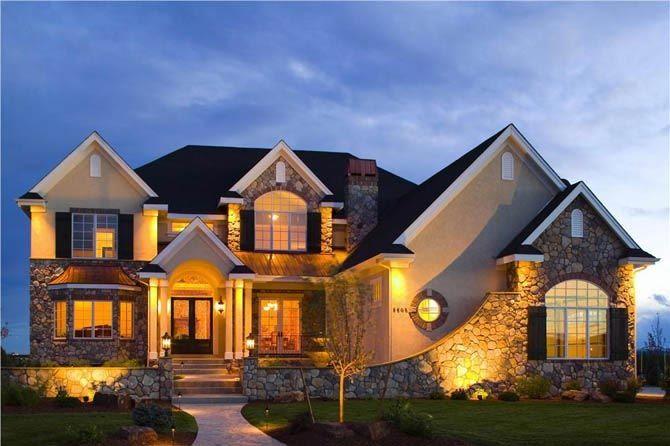 Suburban house american suburban housing pinterest for Suburban house plans