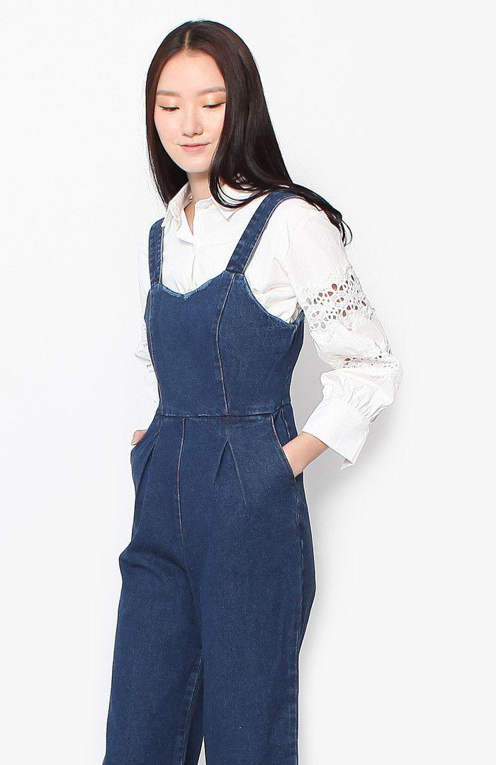 Holly Crochet Blouse - White