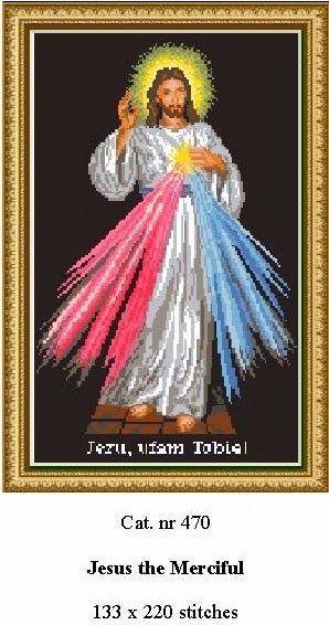Jesus de Misericordia GRAFICOS PUNTO DE CRUZ GRATIS : RELIGIOSO(26)
