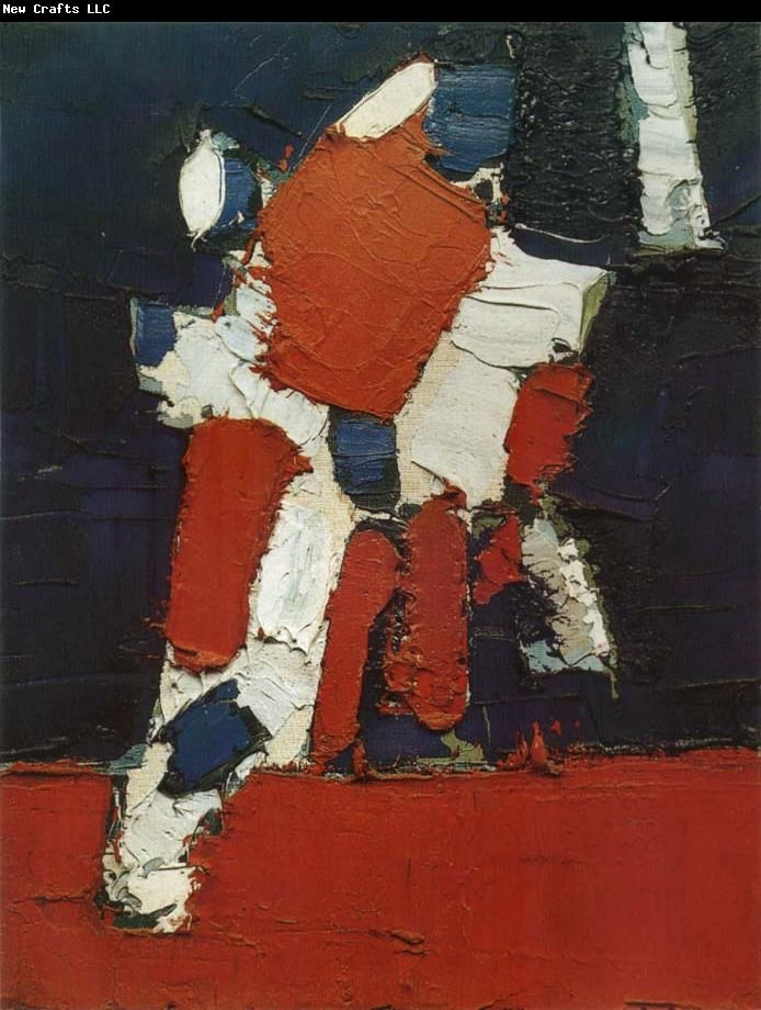 Nicolas de Stael, The Football Match