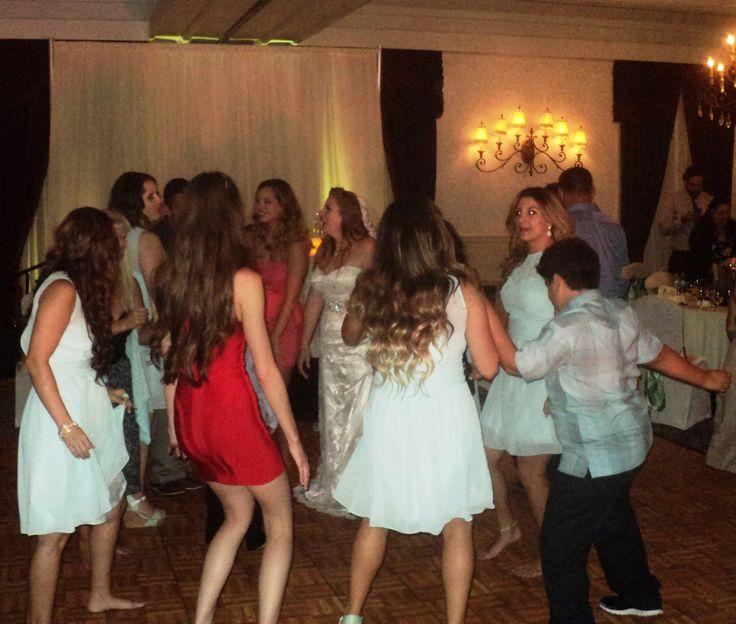Fresno dj plays Harrell wedding at Piccadilly Inn fun Fresno Wedding