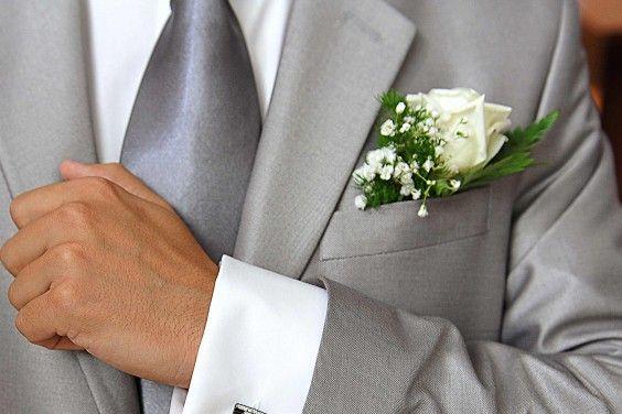 Hochzeit Blume Anzug