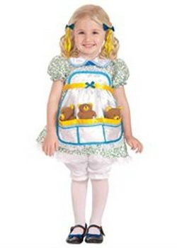 Fairytale & Storybook Costumes: Goldilocks and the Three Bears Costume (more details at Halloween-Kids-Costumes.com) (more details at Hallow...