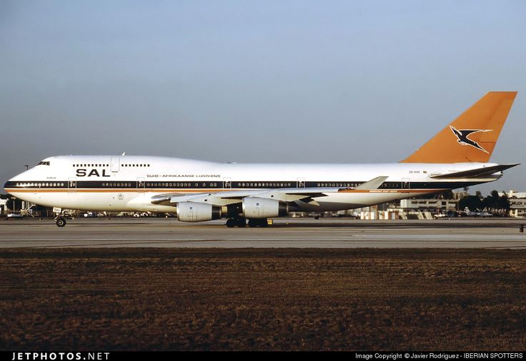 High quality photo of ZS-SAV (CN: 24976) South African Airways Boeing 747-444 by Javier Rodriguez - IBERIAN SPOTTERS