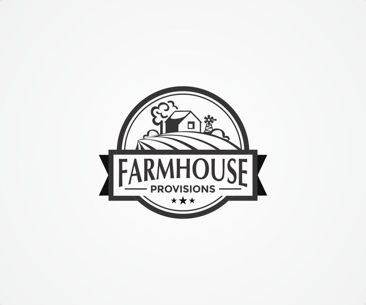 Logo Design by DvynaArt for New logo for a wine, meat,cheese,seafood store called Farmhouse Provisions - Design #7095432