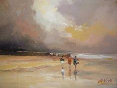 Морские пейзажи. Andres Vivo