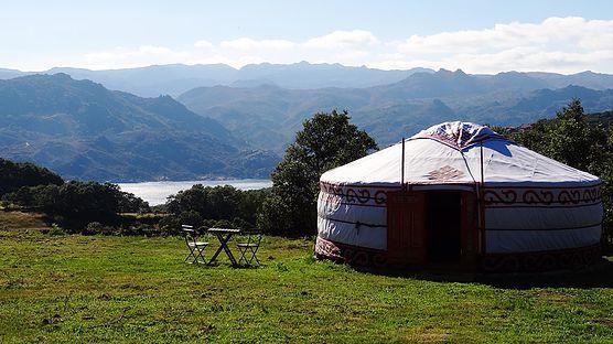 Parque National Peneda #Gerês #Portugal #Camping #glamping #yurt