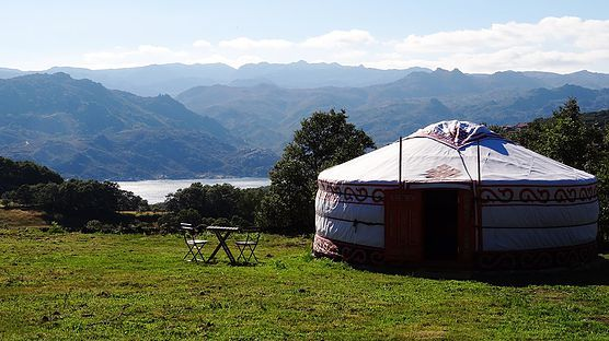 Parque National Peneda #Gerês #Portugal #Camping #glamping #yurt