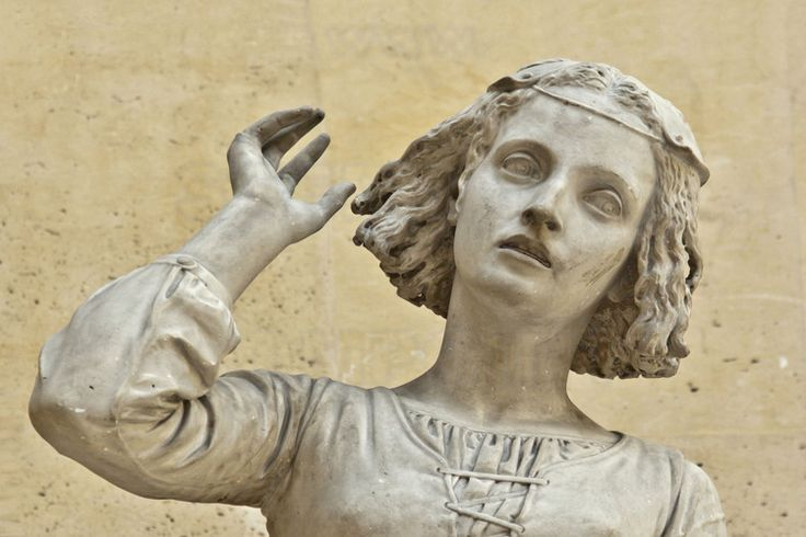 Jeanne d'Arc by François Rude