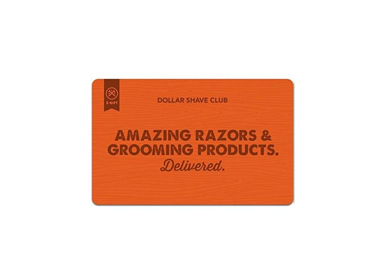 $50 Dollar Shave Club Gift Cards (E-mail Delivery) for $40 at Amazon