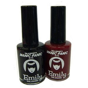 Haar > Accessoires > Make-up > Nagellak > Emily The Strange Nail Polish - Manic - Attitude Holland (since 1999)