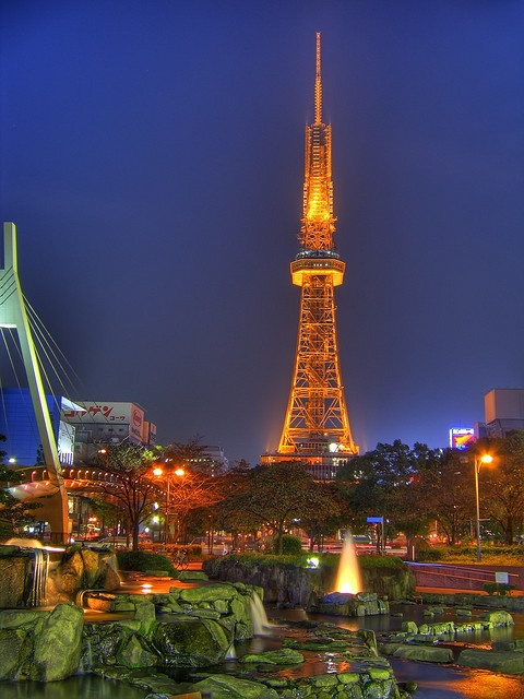 Nagoya TV tower- Nagoya, Japan