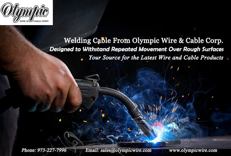 Welding Cable From Olympic Wire & Cable Corp. Designed to Withstand Repeated Movement Over Rough Surfaces Your Source for the Latest Wire and Cable Products