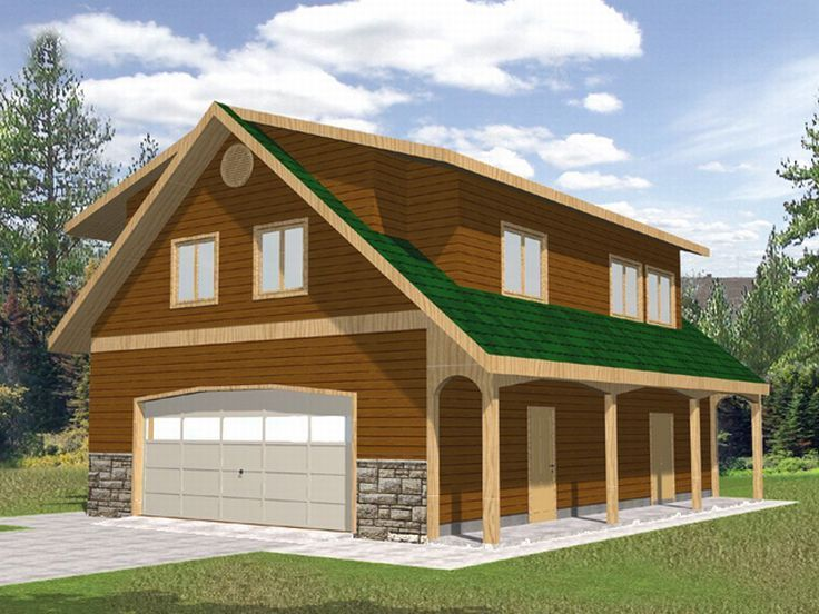 Carriage house plan 012g 0024 drive thru at the lake for House plans with drive through garage