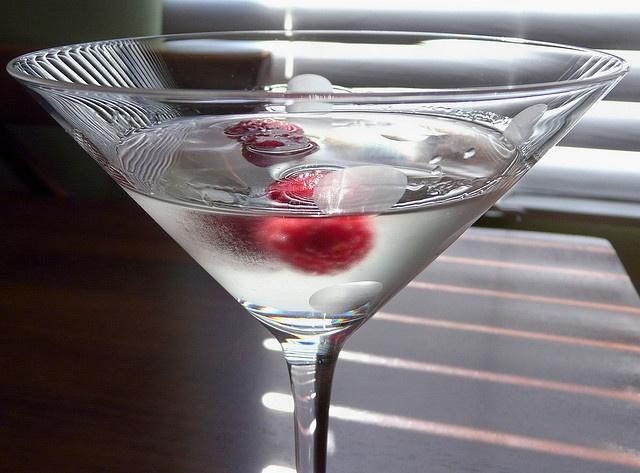 Rasberry Crush Martini