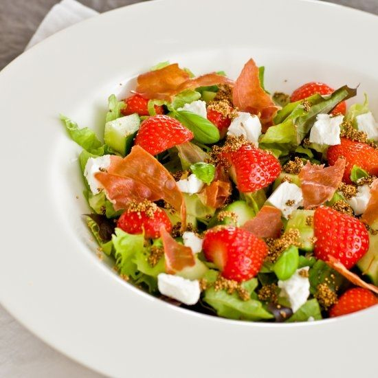 This healthy salade is perfect for a summer day!