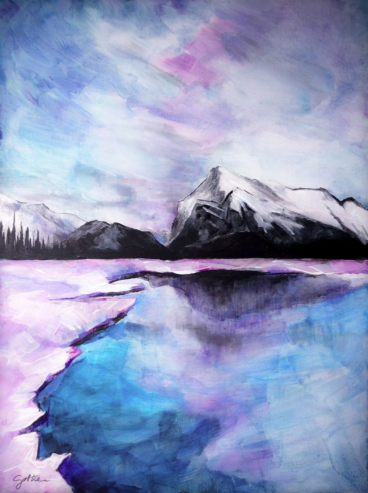 """Northern lights..."" - imagination #gotthee#artwork#acryl#painting#  www.gotthee.com"