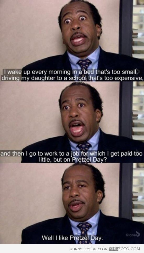 455c3de30c47c0e37aa4a6eaed3afd41 april pretzel day 31 best the office memes images on pinterest ha ha, offices and