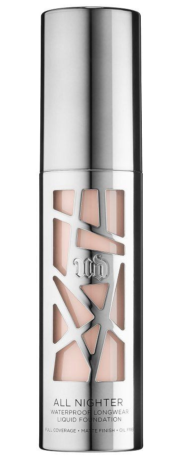 All Nighter Liquid Foundation 1 by Urban Decay. A full-coverage, matte-finish, waterproof foundation that lasts all night. All Nighter Liquid Foundation by Urban Decay provides full coverage with a modern matte finish that never looks overdone. Get all-night wear and a blown-out effec... #urbandecay #makeup #beauty