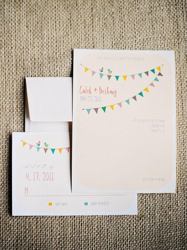 sweet wedding invitations