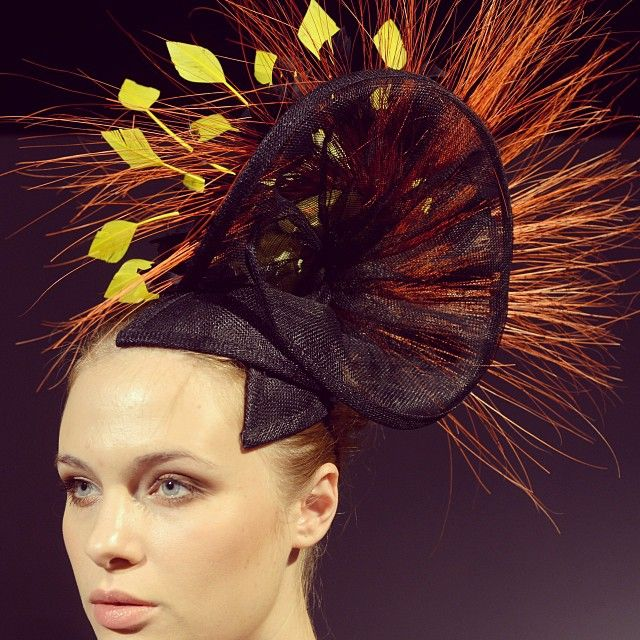 Add a little #spike to your life...designmrv bringing us the finest in accessories on top for #SS14 #MBFWI by mbfashionweek